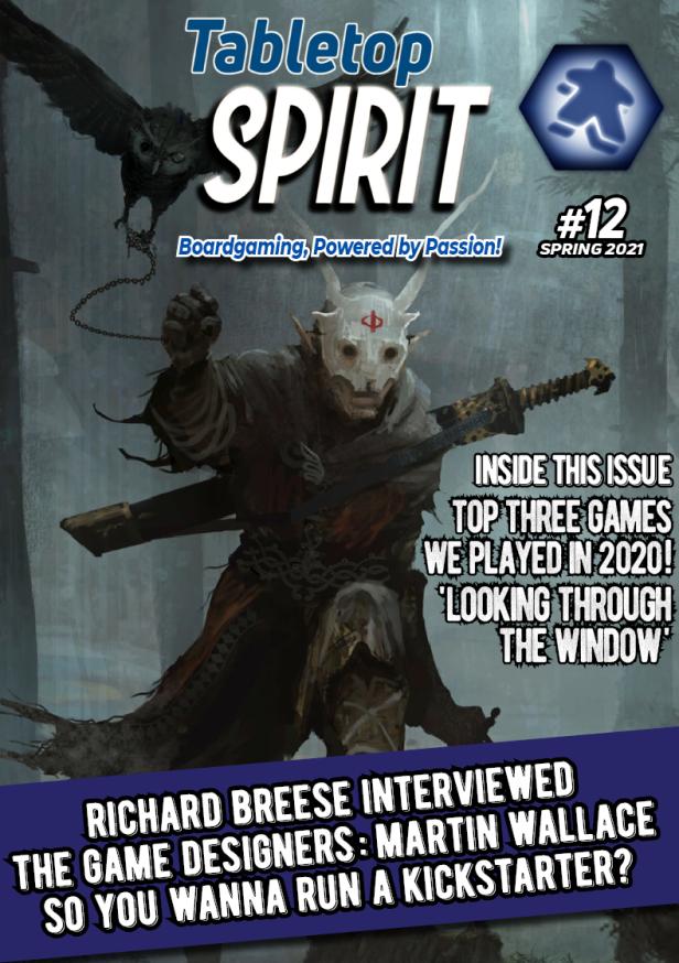 Tabletop SPIRIT issue #12